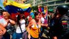 Las manifestaciones por la crisis en Venezuela.