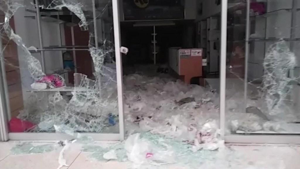 Saqueos a 40 tiendas en Maracaibo, Venezuela