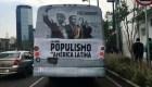 """AMLO en """"Populismo en América Latina"""", ¿campaña sucia?"""