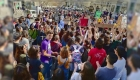 Jóvenes españoles se unen a la huelga estudiantil contra el cambio climático
