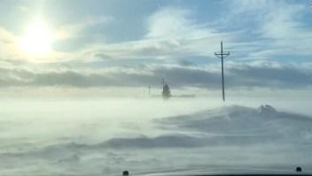 #LaImagenDelDía: carretera en Minnesota se cubre de neblina