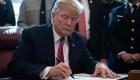 El primer veto de Trump, ¿quién invalida a quién?