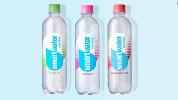 Coca Cola lanza línea de agua saborizada