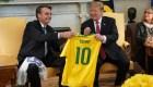 Trump : La relación está muy bien con Brasil