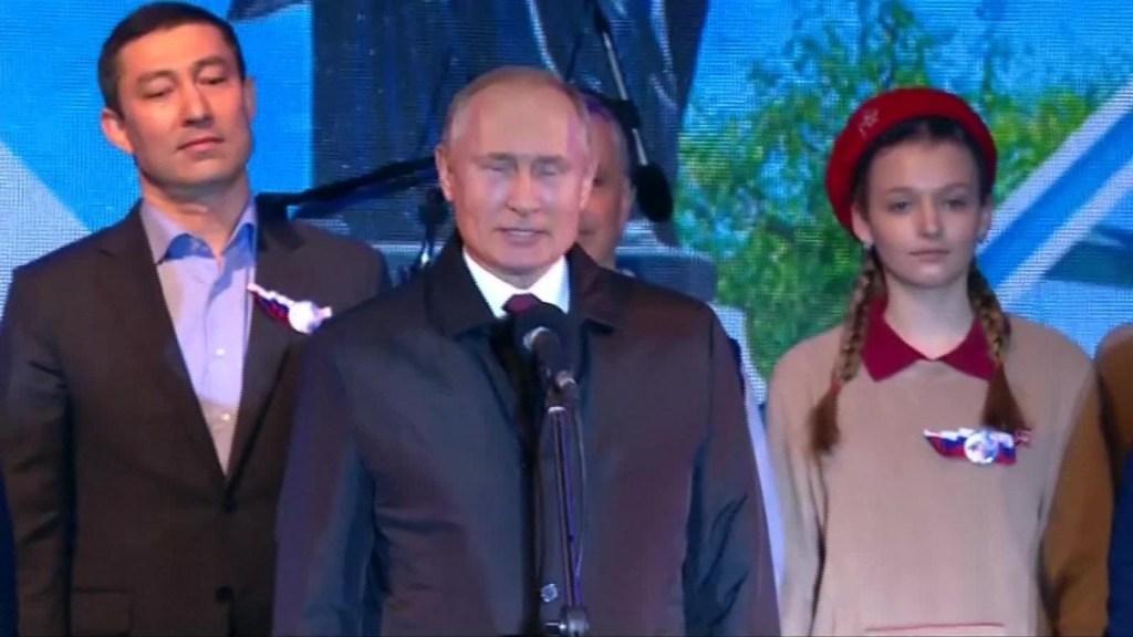 Anexión de Crimea a Rusia cumplió cinco años