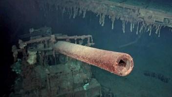 Portaviones hundido en 1972 ha sido encontrado
