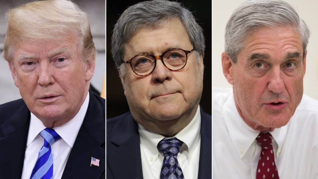 Trama rusa Trump Mueller Barr