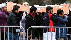El adiós a víctimas del ataque terrorista en Christchurch