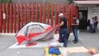 CNTE levanta plantón tras encuentro con gobierno mexicano
