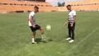Hermanos iraquíes buscan futuro futbolístico en México
