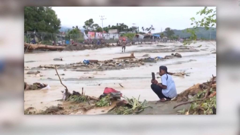 Indonesia sufre fuertes inundaciones con 113 muertos
