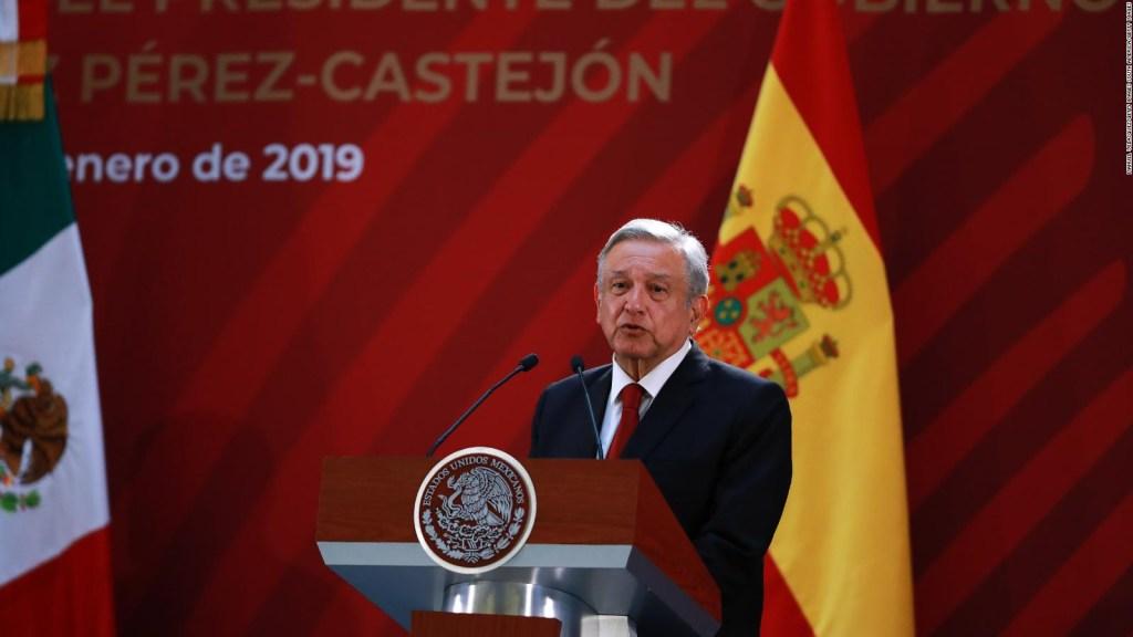 ¿Qué opinas sobre la disculpa que pide AMLO a España?