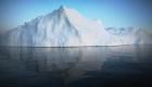 Un glaciar aumenta de tamaño en Groenlandia