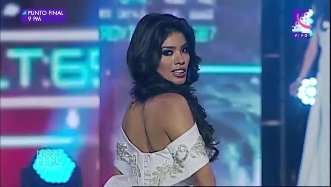 Miss Perú pierde su título