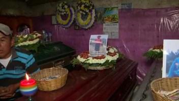 Todo un pueblo de Guatemala, de luto por atropello masivo