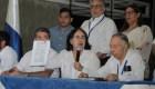 Firman liberación de opositores y restablecimiento de garantías