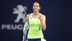 Pliskova va por su segundo título de la temporada