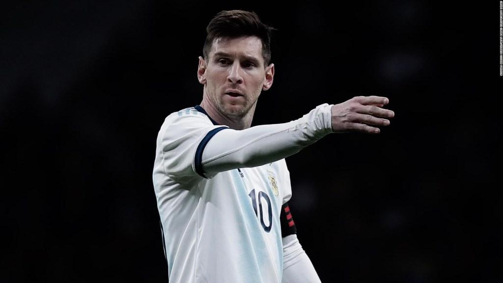 ¿Cual fue la reacción de los argentinos a las palabras de Messi?