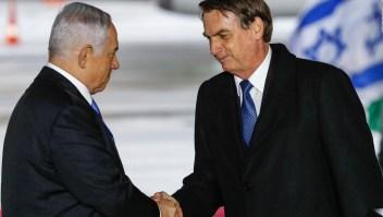 Bolsonaro arriba a Jerusalén con anuncio controversial