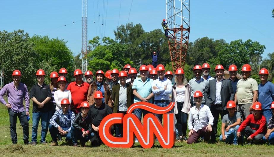 Parte del equipo de CNN Radio Argentina.
