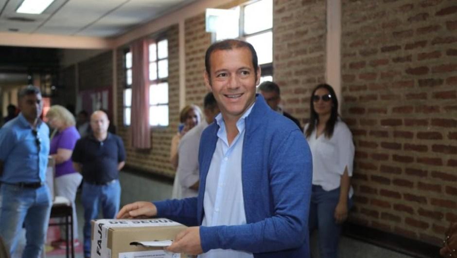 Omar Gutiérrez, gobernador reelecto de Neuquén.