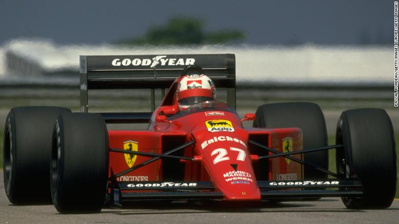 Ferrari 640 (1989), Nigel Mansell
