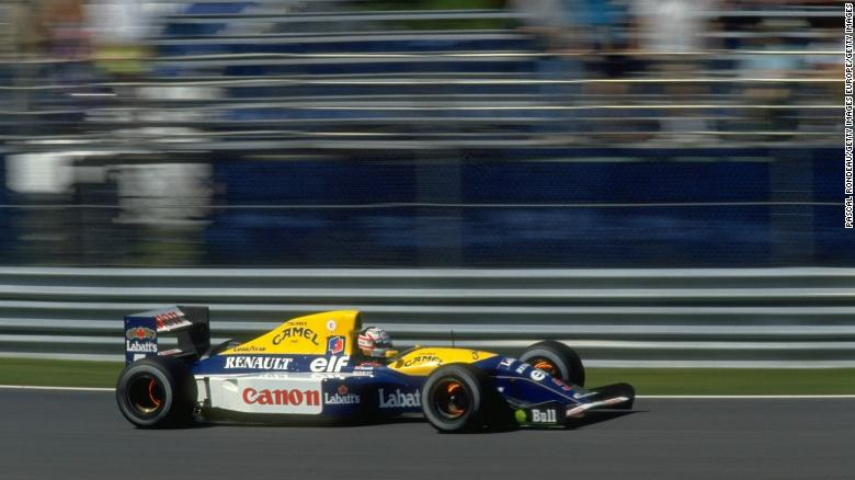 Williams FW14B, Nigel Mansell