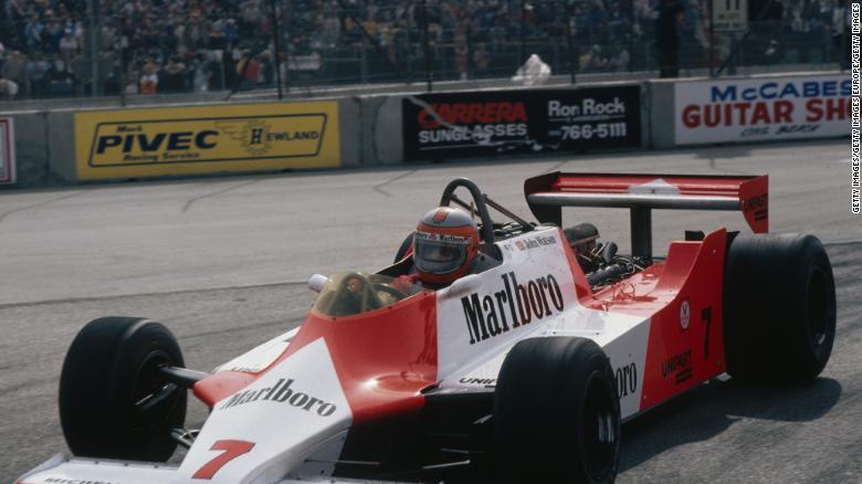McLaren MP4 / 1, John Watson