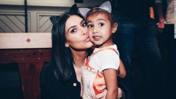 Kim Kardashian, North West, bebés