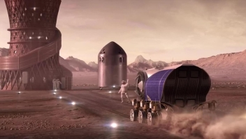 La NASA seleccionó tres diseños de casas para Marte