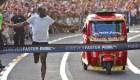 Usain Bolt corrió contra un mototaxi en Lima