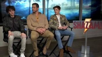 """Hablamos con los protagonistas de """"Shazam"""""""