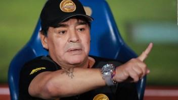 Maradona recibe multa por dedicar triunfo a México
