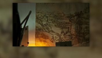 Da Vinci, con las dos manos