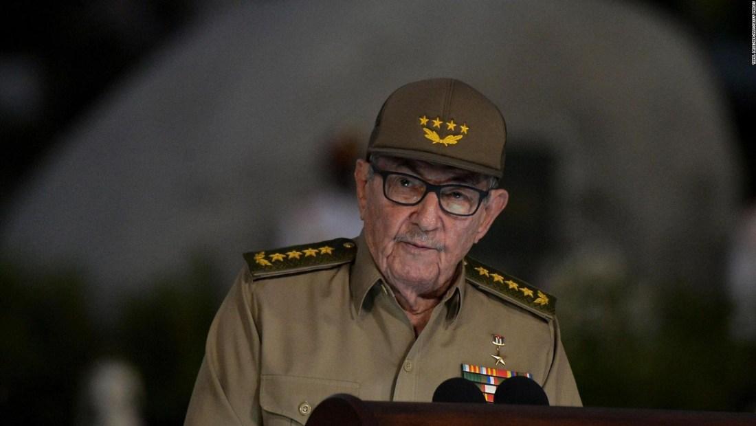 Raúl Castro expresó su apoyo a Venezuela