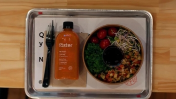 El restaurante del futuro sirve la comida en 2 minutos