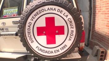 Avión con ayuda humanitaria aterrizó en Caracas