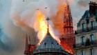 El incendio que destruye Notre Dame
