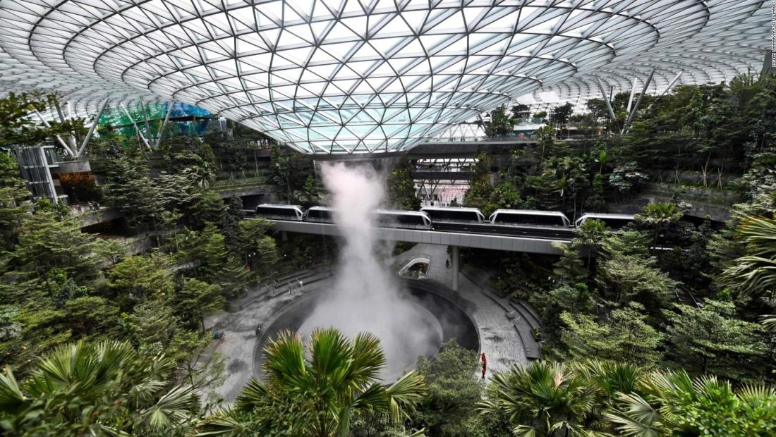 Jewel Changi, más que un simple aeropuerto