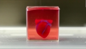 Corazón impreso en 3D levanta esperanzas