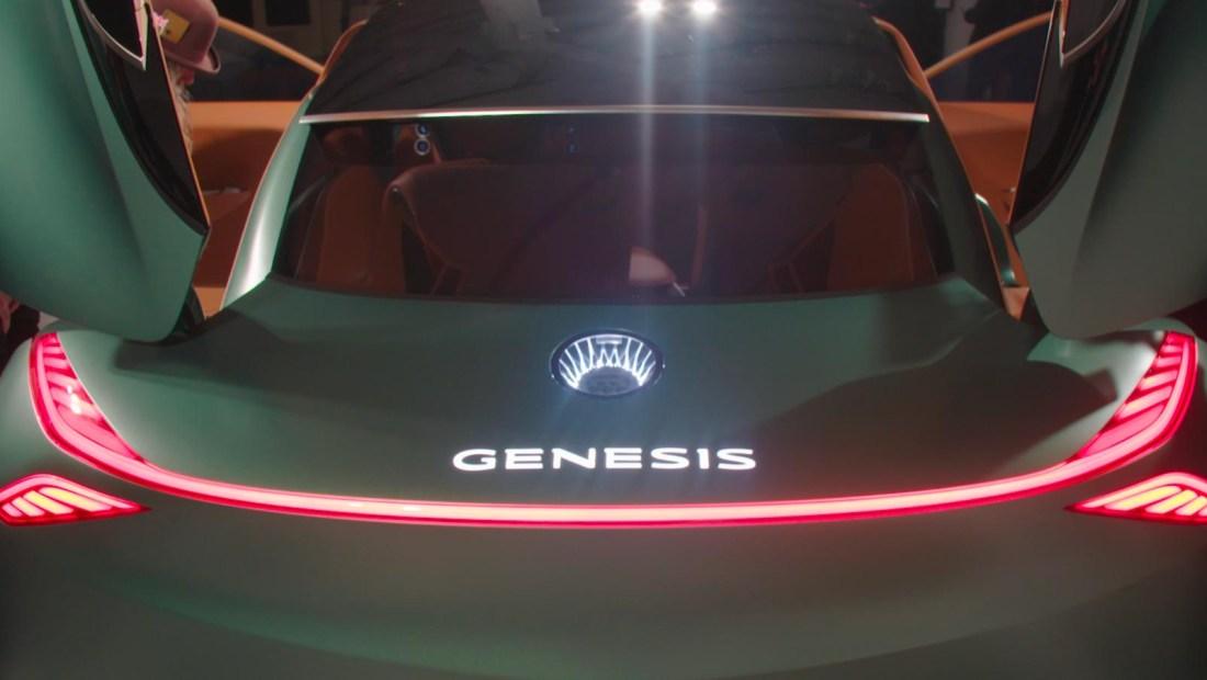 Genesis Mint, el nuevo auto eléctrico de Hyundai