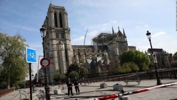 Investigación Notre Dame incendio
