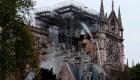 Detalles de la investigación del incendio de Notre Dame