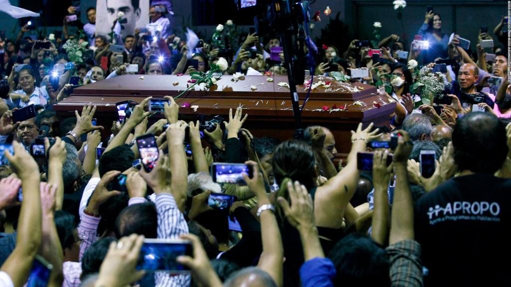 El último adiós a Alan García
