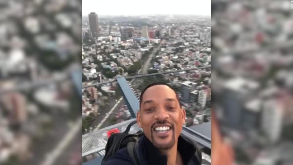 Will Smith graba película en Ciudad de México