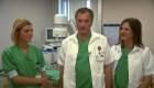 Padre e hijas hicieron una operación juntos