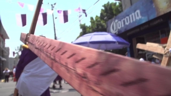 México celebra Viernes Santo en Iztapalapa