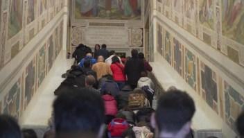 Vaticano ofrecerá acceso a la 'escalera de la crucifixión'