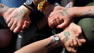 Londres protesta contra el cambio climático