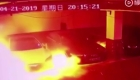 Un auto Tesla explota en China